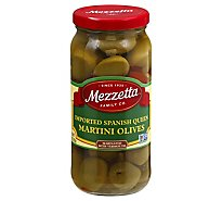 Mezzetta Olives Martini Imported Spanish Queen - 10 Oz