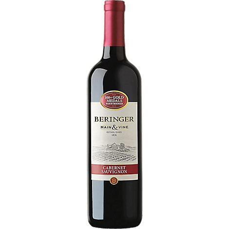 Beringer California Collection Wine Cabernet Sauvignon California - 750 Ml