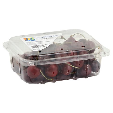 O Organics Organic Cherries Sweet Clamshell Prepacked - 1 Lb