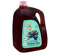 AriZona Green Tea Diet Blueberry - 128 Fl. Oz.