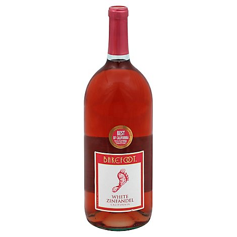Barefoot Cellars White Zinfandel Blush Wine - 1.5 Liter