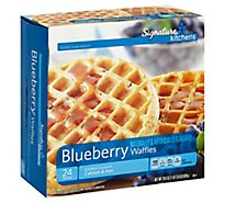 Signature SELECT Waffles Blueberry - 29.6 Oz
