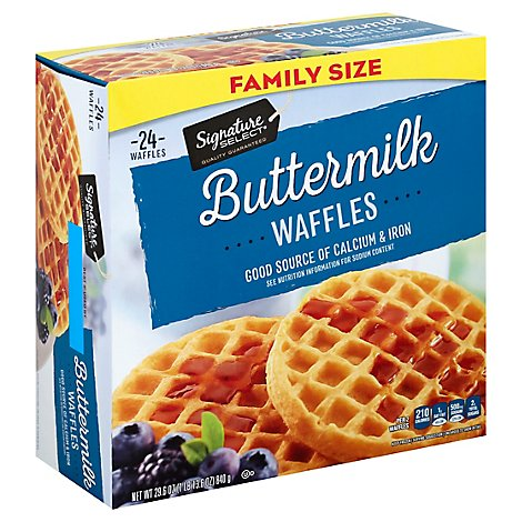 Signature SELECT/Kitchens Waffles Buttermilk - 29.6 Oz