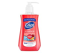 Dial Hand Soap Liquid With Moisturizer Antibacterial Pomegranate & Tangerine - 7.5 Fl. Oz.