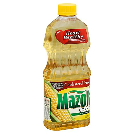 Mazola Corn Oil Cholesterol Free - 40 Fl. Oz.