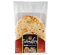 Stonefire Naan Tandoor Baked Garlic - 8.8 Oz