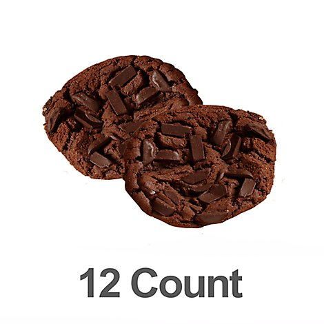 Bakery Cookies Chocolate Extreme 12 Count - Each