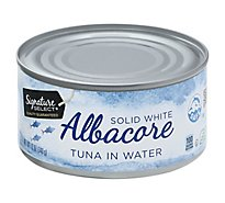 Signature SELECT Tuna Albacore Solid White in Water - 12 Oz