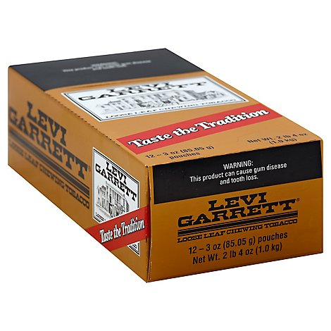 Levi Garrett Chewing Tobacco - Case