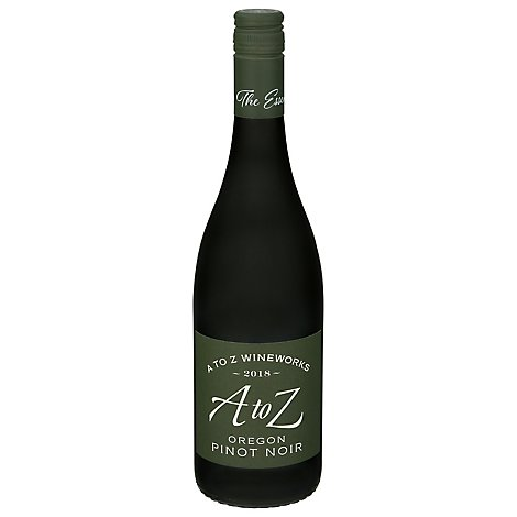 A to Z Wine Pinot Noir Oregon - 750 Ml