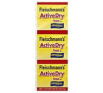 Fleischmanns ActiveDry Yeast Original - 3-0.25 Oz