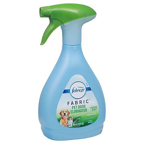 Febreze Fabric Refresher Spray Pet Odor Eliminator Lightly Scented Bottle- 27 Fl. Oz.