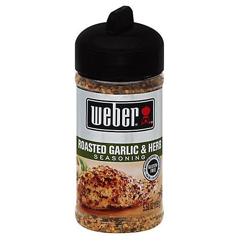 Weber Seasoning Roasted Garlic & Herb - 5.5 Oz