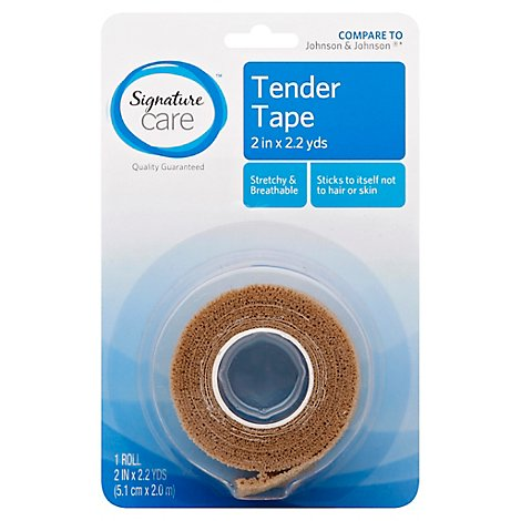 Signature Care Tender Tape Non Irritating 2in x 2.2yds - Each