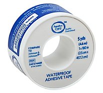 Signature Care Adhesive Tape Waterproof 5 Yards - Each
