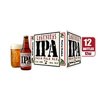 Lagunitas Beer IPA India Pale Ale Bottle - 12-12 Fl. Oz.
