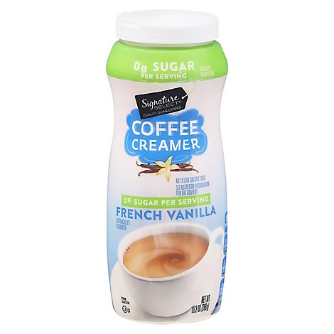 Signature SELECT Coffee Creamer Lactose Free Sugar Free French Vanilla - 10.2 Oz