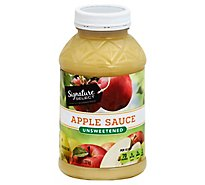 Signature SELECT Apple Sauce Unsweetened - 47 Oz