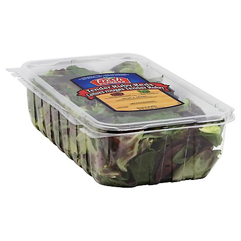 Fresh Express Salads Tender Ruby Reds Clam Shell - 10 Oz