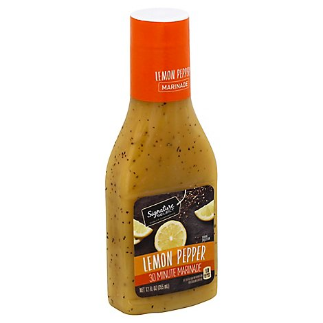 Signature SELECT Marinade Lemon Pepper - 12 Fl. Oz.