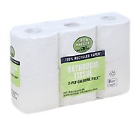 Open Nature Bathroom Tissue 2 Ply Chlorine Free - 6 Count