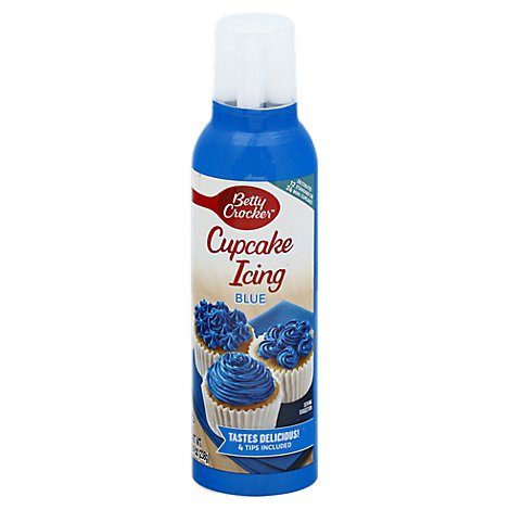 Betty Crocker Decorating Icing Cupcake Sky Blue - 8.4 Oz