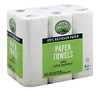 Open Nature Paper Towels 2-Ply - 6 Roll