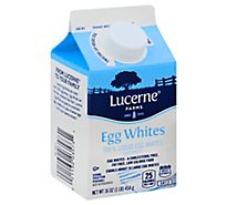 Lucerne Egg Whites 100% Liquid - 16 Oz