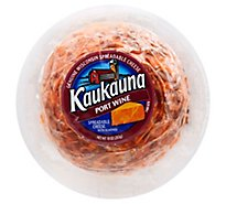 Kaukauna Port Wine Spreadable Cheese Ball 10 oz