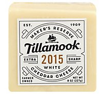 Tillamook Cheese Cheddar Sharp Vintage White Extra - 8 Oz