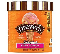 Dreyers Edys Sherbet Grand Classic Berry Rainbow - 1.5 Quart