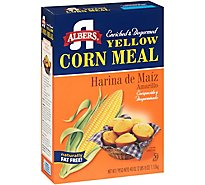 Albers Corn Meal Naturally Fat Free Yellow - 40 Oz