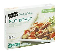 Signature SELECT Counting Calories Pot Roast With Vegetables - 9 Oz