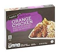 Signature SELECT World Cuisine Orange Chicken - 9 Oz