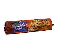 Signature SELECT Cookie Dough Spoonable Chocolate Chip - 16.5 Oz