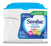 Similac Advance Infant Formula With Iron Powder - 23.2 Oz