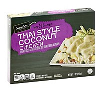 Signature SELECT World Cuisine Thai Style Coconut Chicken - 9 Oz