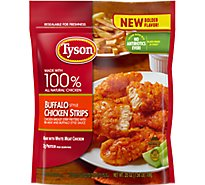 Tyson Fully Cooked Buffalo Style Chicken Strips 25 Oz Frozen