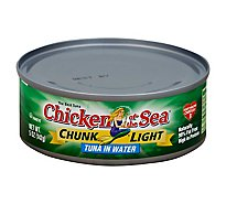 Chicken of the Sea Chunk Light Tuna in Water Chunk Style - 5 Oz