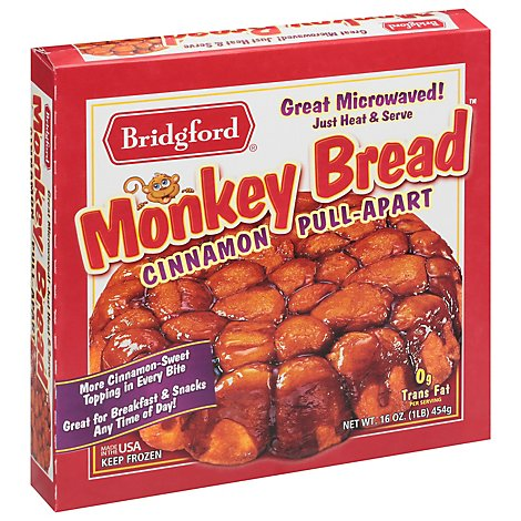 Bridgford Cinnamon Pull Apart Monkey Bread - 16 Oz