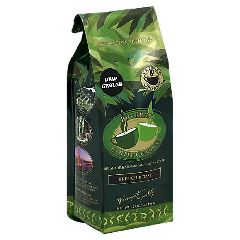 Big River Coffee Company Coffee Drip Ground French Roast - 12 Oz