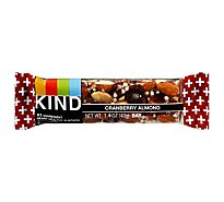 KIND Bar Plus Antioxidants + Cranberry Almond With Macadamia Nuts - 1.4 Oz
