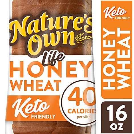 Natures Own Light Honey Wheat - 16 Oz
