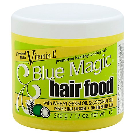 Blue Magic Hair Food With Wheat Germ Coconut Oil - 12 Oz