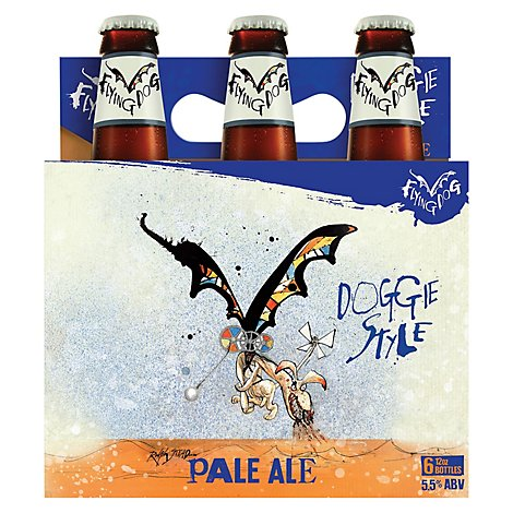 Flying Dog Classic Pale Ale Bottles - 6-12 Fl. Oz.