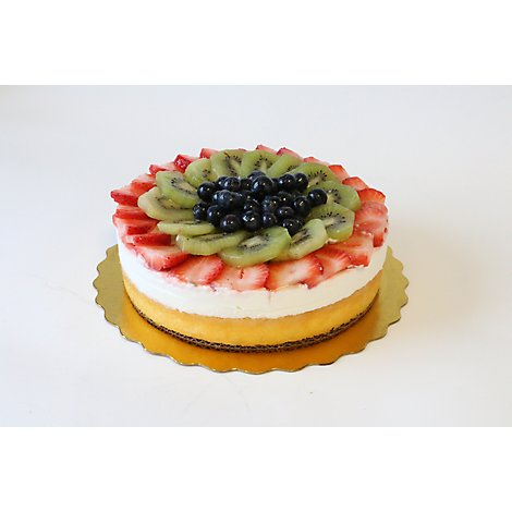 Fresh Baked Signature Select Artisan Fruit Topped Mousse Cake - Each