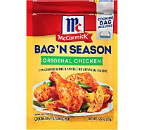 McCormick Bag N Season Cooking Bag & Seasoning Mix Original Chicken - 1.25 Oz