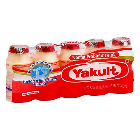 Yakult Probiotic Drink Nonfat - 5-2.7 Fl. Oz.