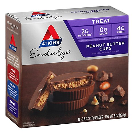 Atkins Endulge Peanut Butter Cups - 6 Oz