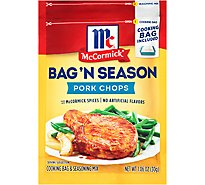 McCormick Bag n Season Pork Chops Cooking & Seasoning Mix - 1.06 Oz